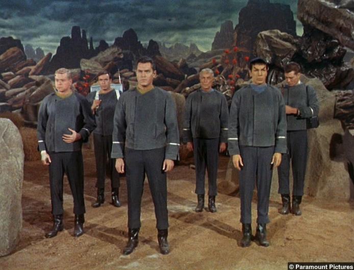 Star Trek Cage Original Series Crew