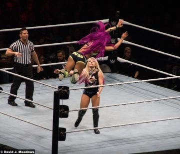 070517 Sasha Banks Alexa Bliss