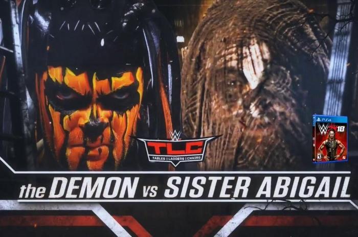 Demon Finn Balor Sister Abigail Bray Wyatt
