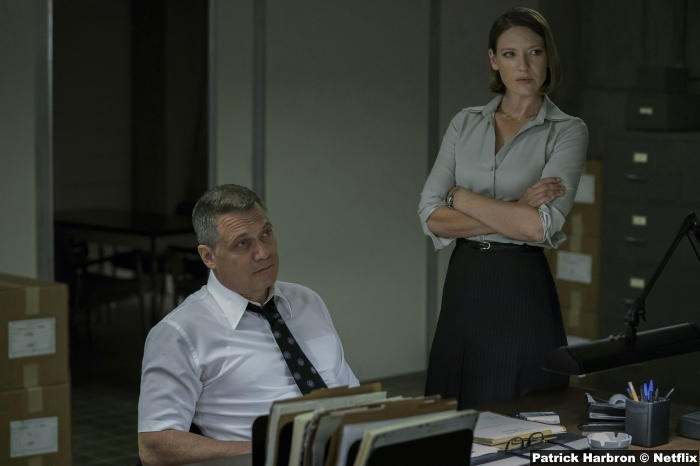 Mindhunter S1 Holt Mccallany Anna Torv
