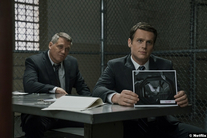 Mindhunter S1 Holt Mccallany Jonathan Groff