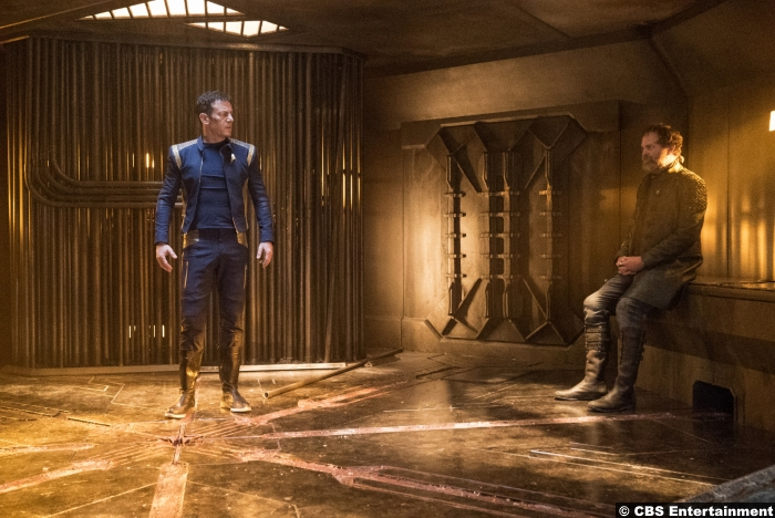 Star Trek Discovery Jason Isaacs Rainn Wilson Gabriel Lorca Harry Mudd