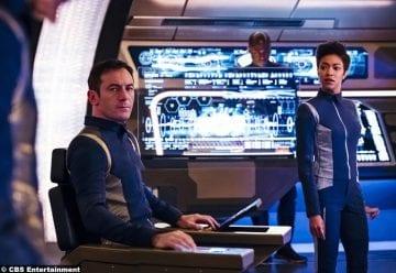 Star Trek Discovery Jason Isaacs Sonequa Martin Green Lorca Michael Burnham