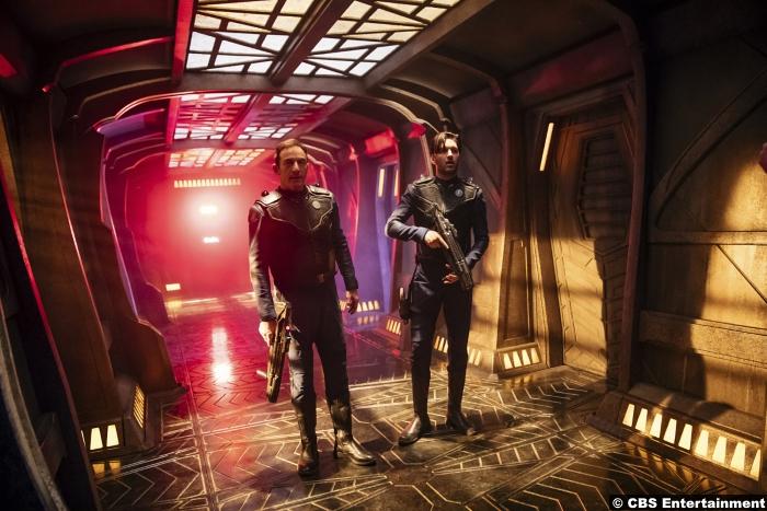 Star Trek Discovery S1e6 Jason Isaacs Shazad Latif Lorca Ash Tyler