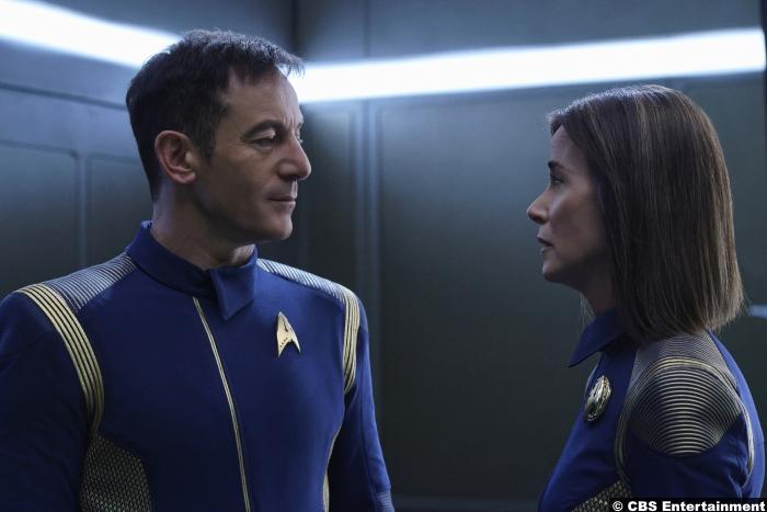 Star Trek Discovery S1e6 Jason Isaacs Shazad Latif Lorca Jayne Brook Admiral Cornwell