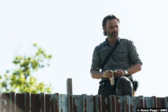 Walking Dead S8e1 Rick Grimes Andrew Lincoln