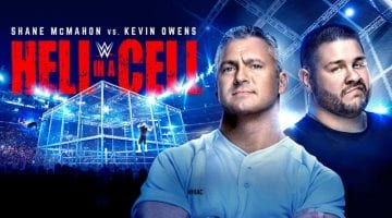 Wwe Hell In A Cell 2017 Poster 2