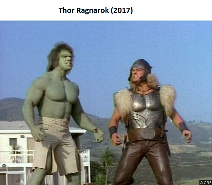 Incredible Hulk Thor Tv Show