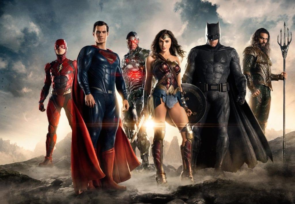 Justice League Bg Batman Wonder Woman Superman Flash Aquaman Cyborg