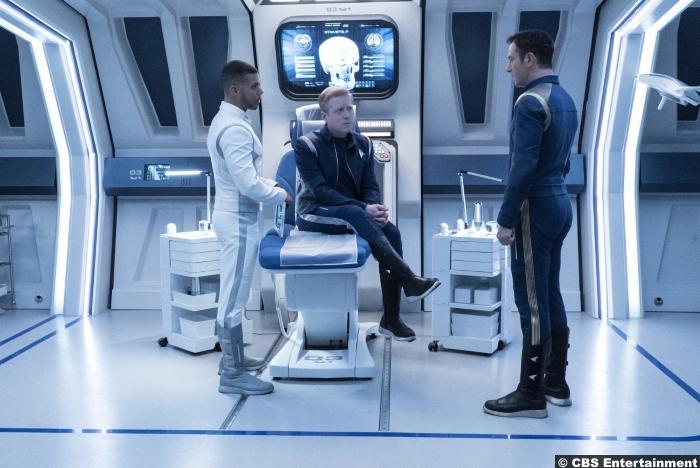 Star Trek Discovery S1e9 Wilson Cruz Anthony Rapp Paul Stamets Hugh Culbert Jason Isaacs Lorca