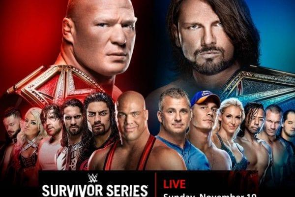 Survivor Series 2017 Poster V2