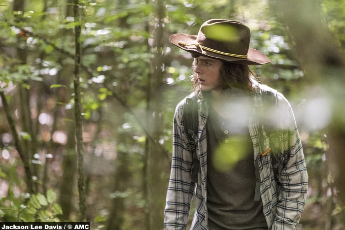 Walking Dead S08e6 Chandler Riggs Carl Grimes