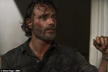 Walking Dead S8e3 Andrew Lincoln Rick Grimes