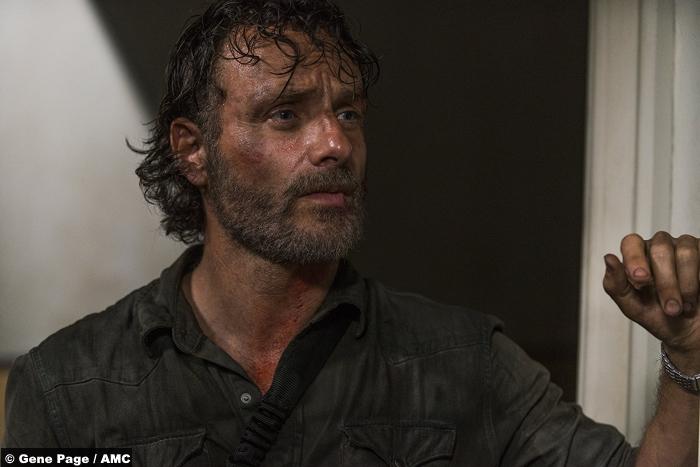 Walking Dead S8e3 Andrew Lincoln Rick Grimes