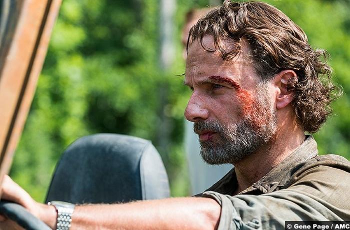 Walking Dead S8e4 Andrew Lincoln Rick Grimes