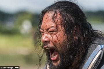 Walking Dead S8e4 Cooper Andrews Jerry