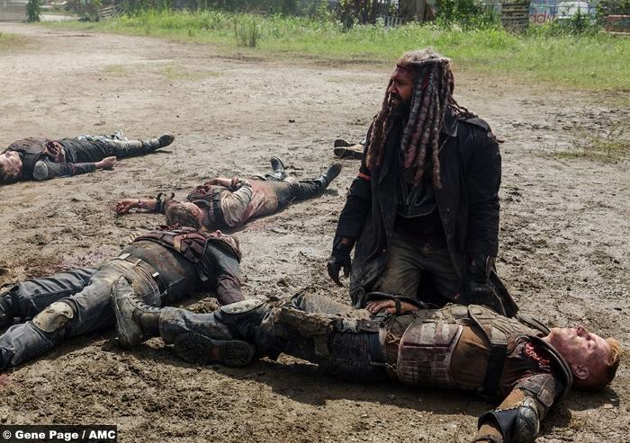 Walking Dead S8e4 Ezekiel Khary Payton
