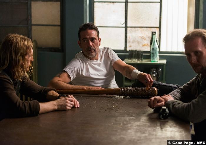 Walking Dead S8e5 Jeffrey Dean Morgan Negan Austin Amelio Dwight