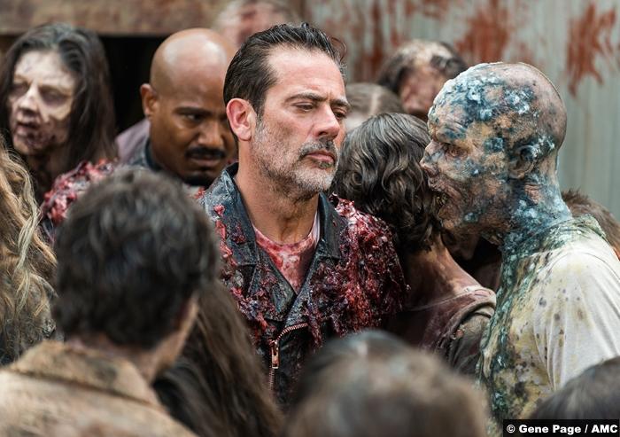 Walking Dead S8e5 Jeffrey Dean Morgan Negan Seth Gilliam Gabriel