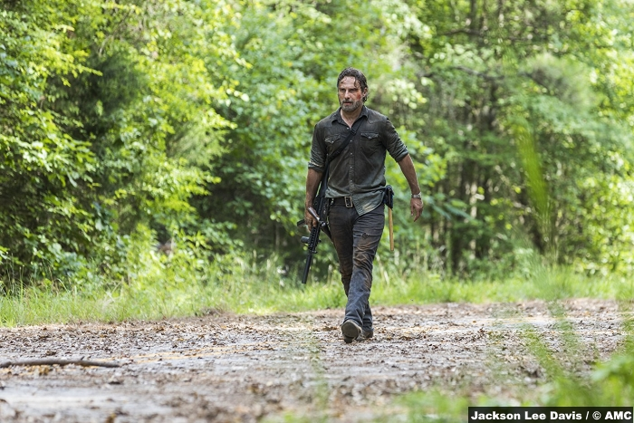 Walking Dead S8e6 Andrew Lincoln Rick Grimes