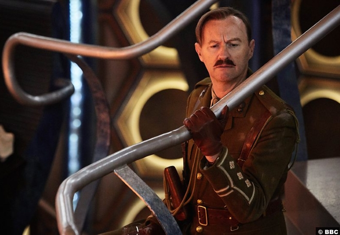 Doctor Who S10e13 Captain Mark Gatiss