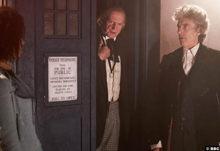 Doctor Who S10e13 Peter Capaldi Pearl Mackie Bill David Bradley