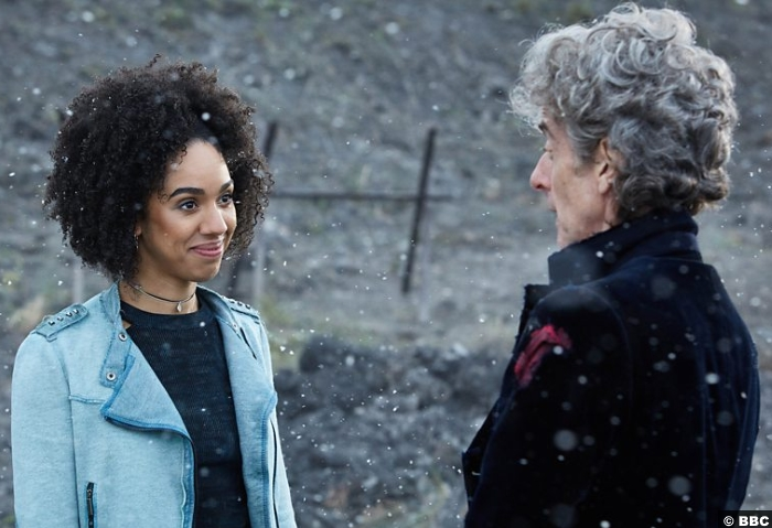 Doctor Who S10e13 Peter Capaldi Pearl Mackie Bill