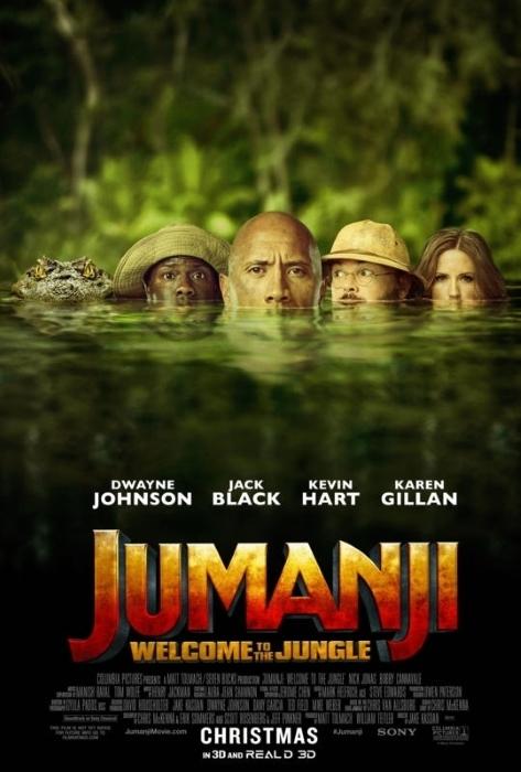 Jumangi 2017 Poster