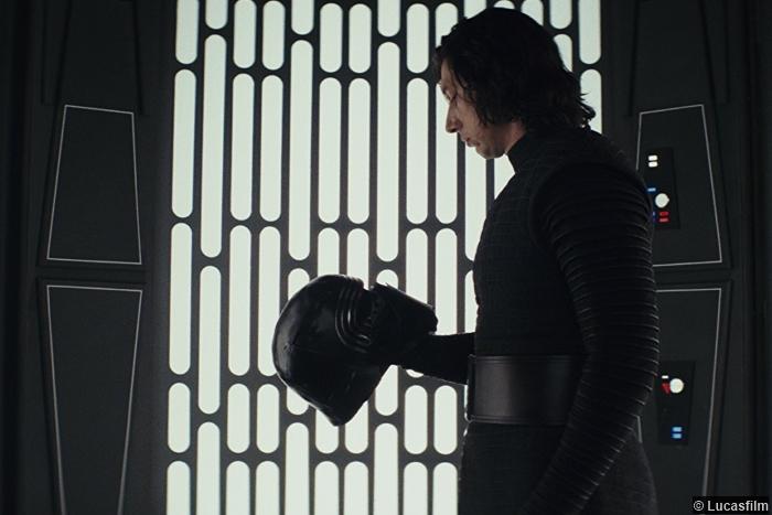 Star Wars Last Jedi Adam Driver Kylo Ren Ben Solo