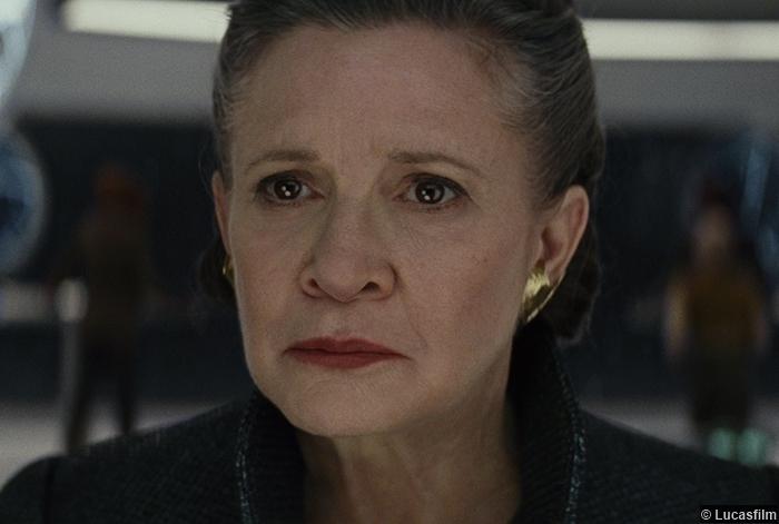 Star Wars Last Jedi Carrie Fisher Princess Leia