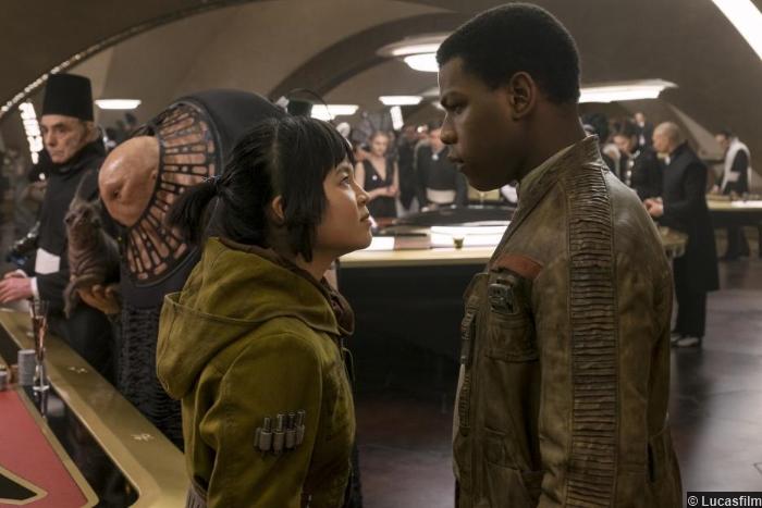 Star Wars Last Jedi John Boyega Kelly Marie Tran Finn Rose Tico