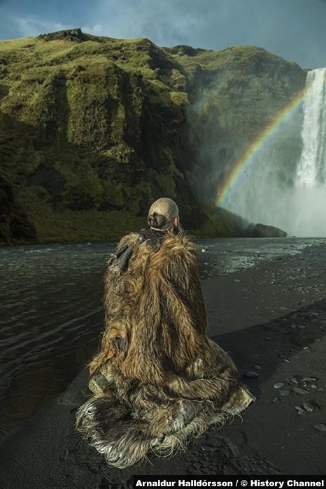 Vikings S05e1 Gustaf Skarsgard Floki 2