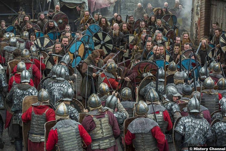 Vikings S05e3 Battle