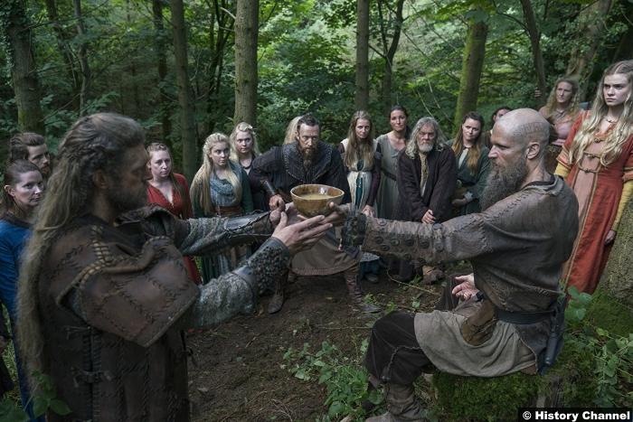 Vikings S05e5 Gustaf Skarsgard Floki