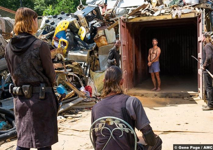 Walking Dead S8e7 Andrew Lincoln Rick Grimes Jadis Pollyanna Mcintosh 2