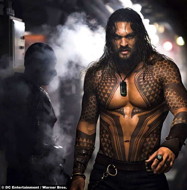 Aquaman 2018 Jason Momoa