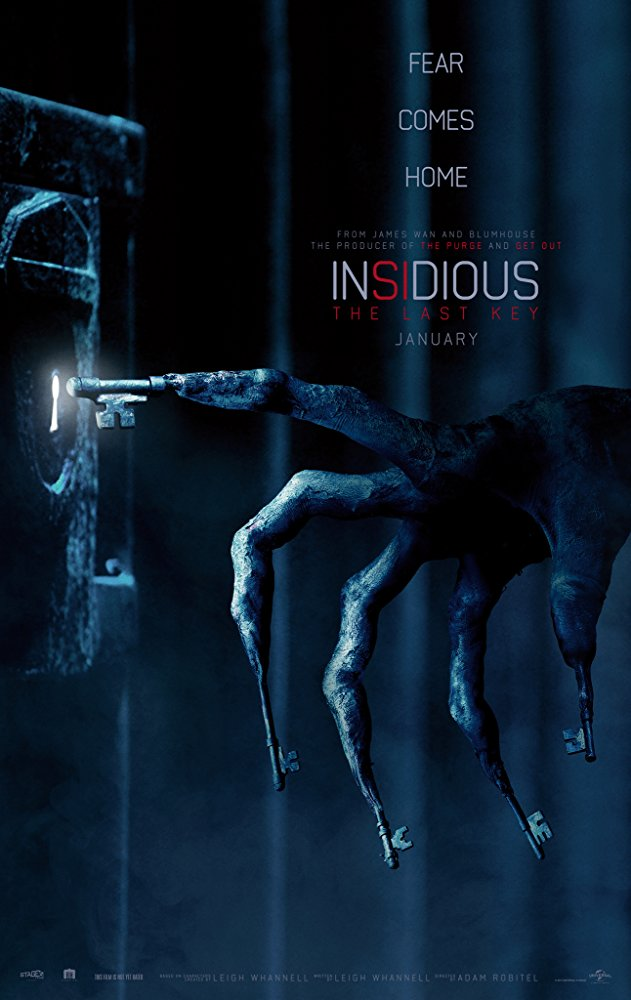REVIEW: Insidious: The Last Key ends an okay franchise on a blah note