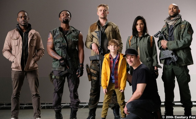 Predator 2018 Shane Black Keegan Michael Key Sterling K Brown Olivia Munn Boyd Holbrook Jacob Tremblay Trevante Rhodes