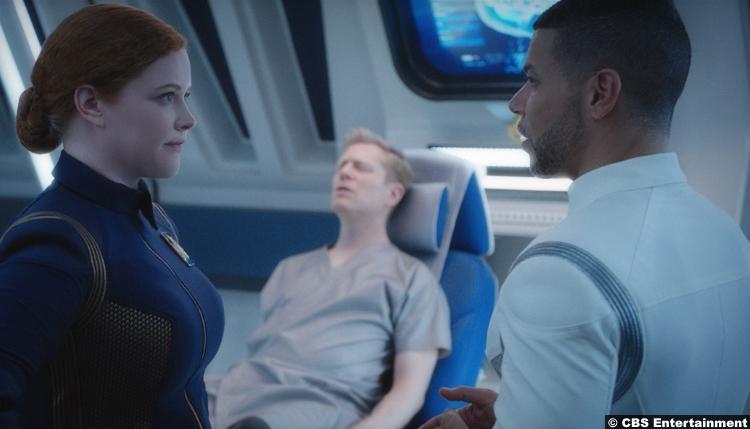 Star Trek Discovery S1e10 Mary Wiseman Sylvia Tilly Wilson Anthony Rapp Hugh Culber Paul Stamets