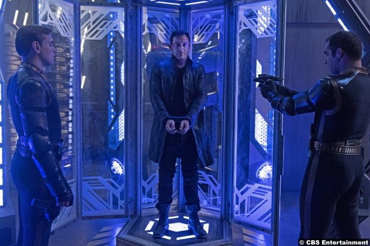 Star Trek Discovery S1e12 Jason Isaacs Lorca