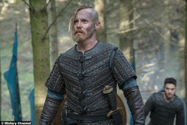 Vikings S05e10 Jasper Paakkonen Halfdan Black