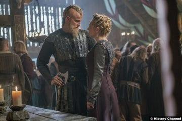 Vikings S05e7 Katheryn Winnick Alexander Ludwig Lagertha Bjorn