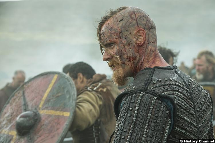 Vikings S05e8 Jasper Paakkonen Halfdan Black