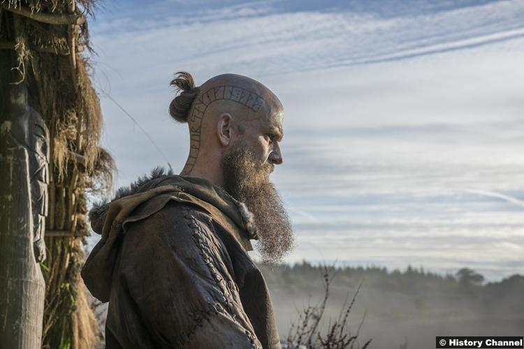 Vikings S05e9 Gustaf Skarsgard Floki