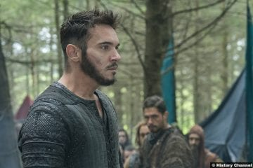 Vikings S05e9 Jonathan Rhys Meyers Bishop Heahmund