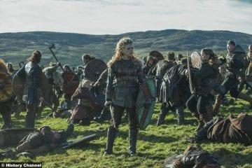 Vikings S5e8 Katheryn Winnick Lagertha