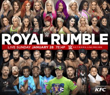 Wwe Royal Rumble 2018 Poster 2