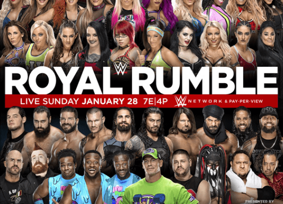 Wwe Royal Rumble 2018 Poster 2