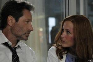X Files S11e01 Gillian Anderson Dana Scully David Duchovny Fox Mulder