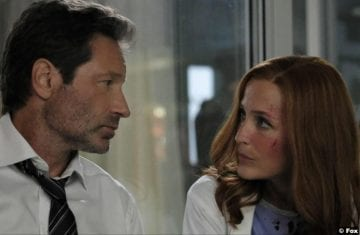 X Files S11e01 Gillian Anderson Dana Scully David Duchovny Fox Mulder